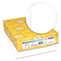 "18""x12"" 108M 130# Solar White Neenah Classic Crest Smooth Digital Double Thick Cover"