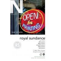"8.5""x11"" 12M 24# Cottonwood Neenah Royal Sundance Fiber Writing"
