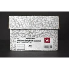 """10""""x13"""" 28# White Vellum Westurn Sulphite Booklet"""