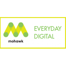 "18""x12"" 99.69M 120# White Smooth Mohawk Everyday Digital Cover"